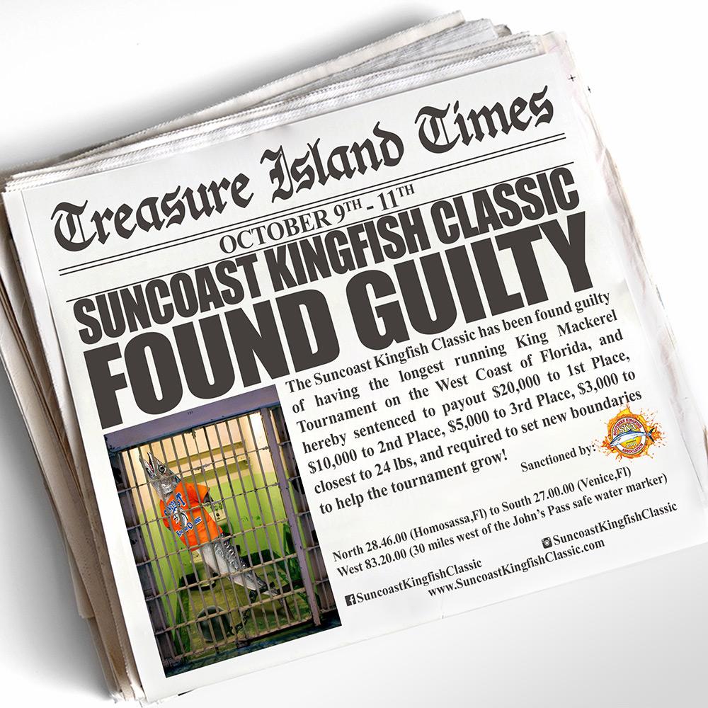 Suncoast Kingfish Classic - Instagram - Treasure Island Times