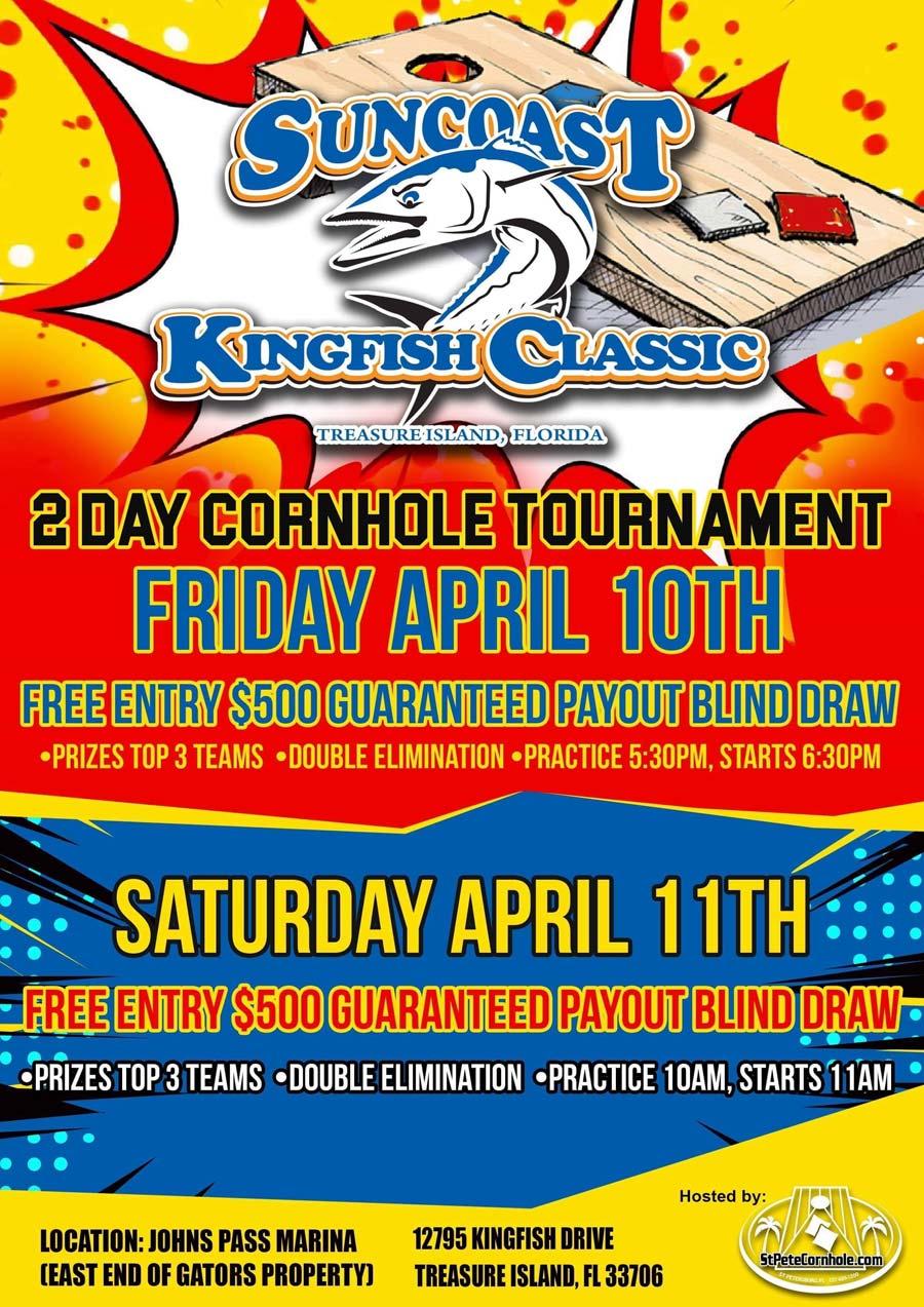 Suncoast Kingfish Classic Tournament - Friday April 10th